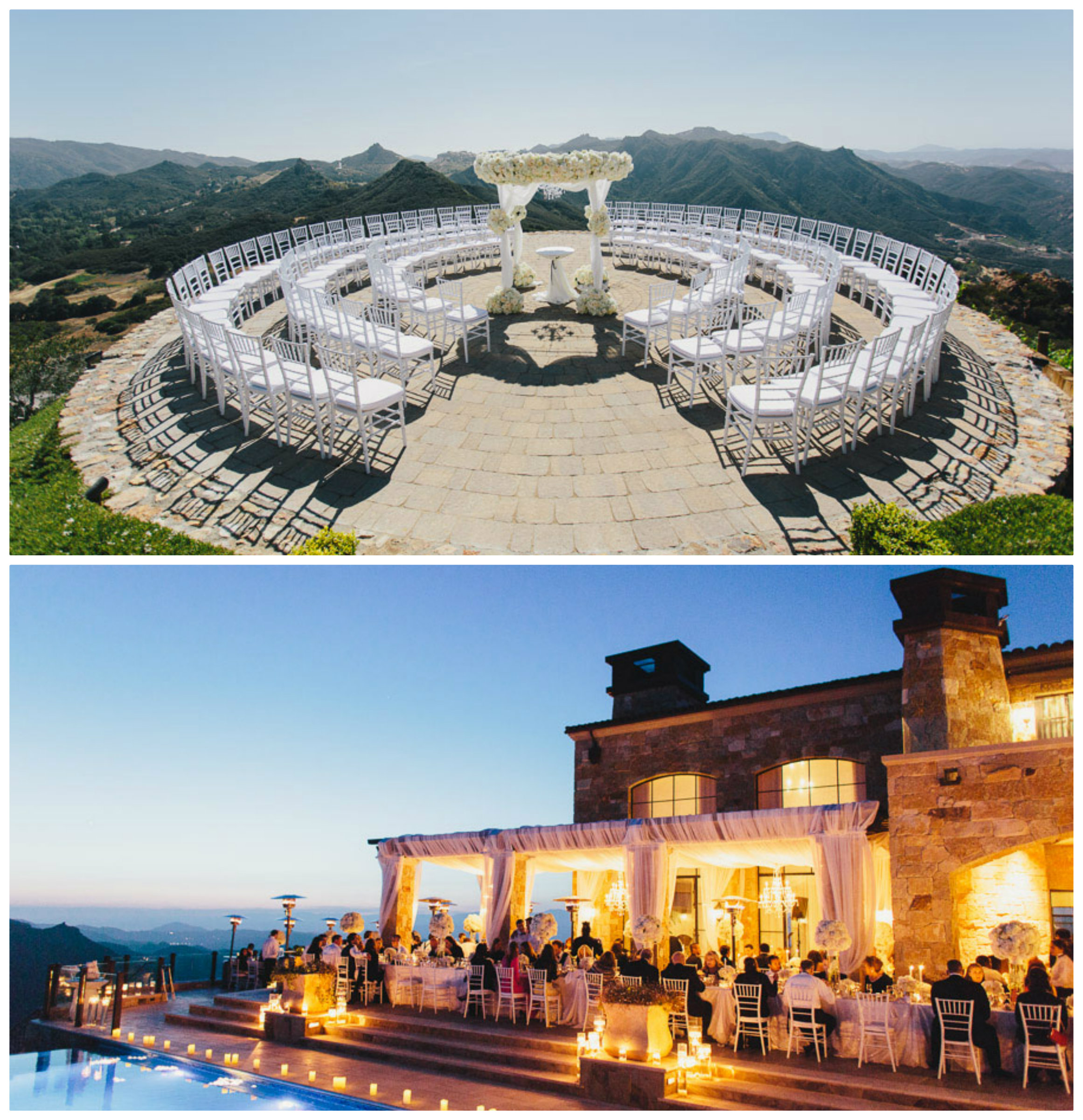 Fairytale venues socal for Malibu rocky oaks estate vineyards wedding cost