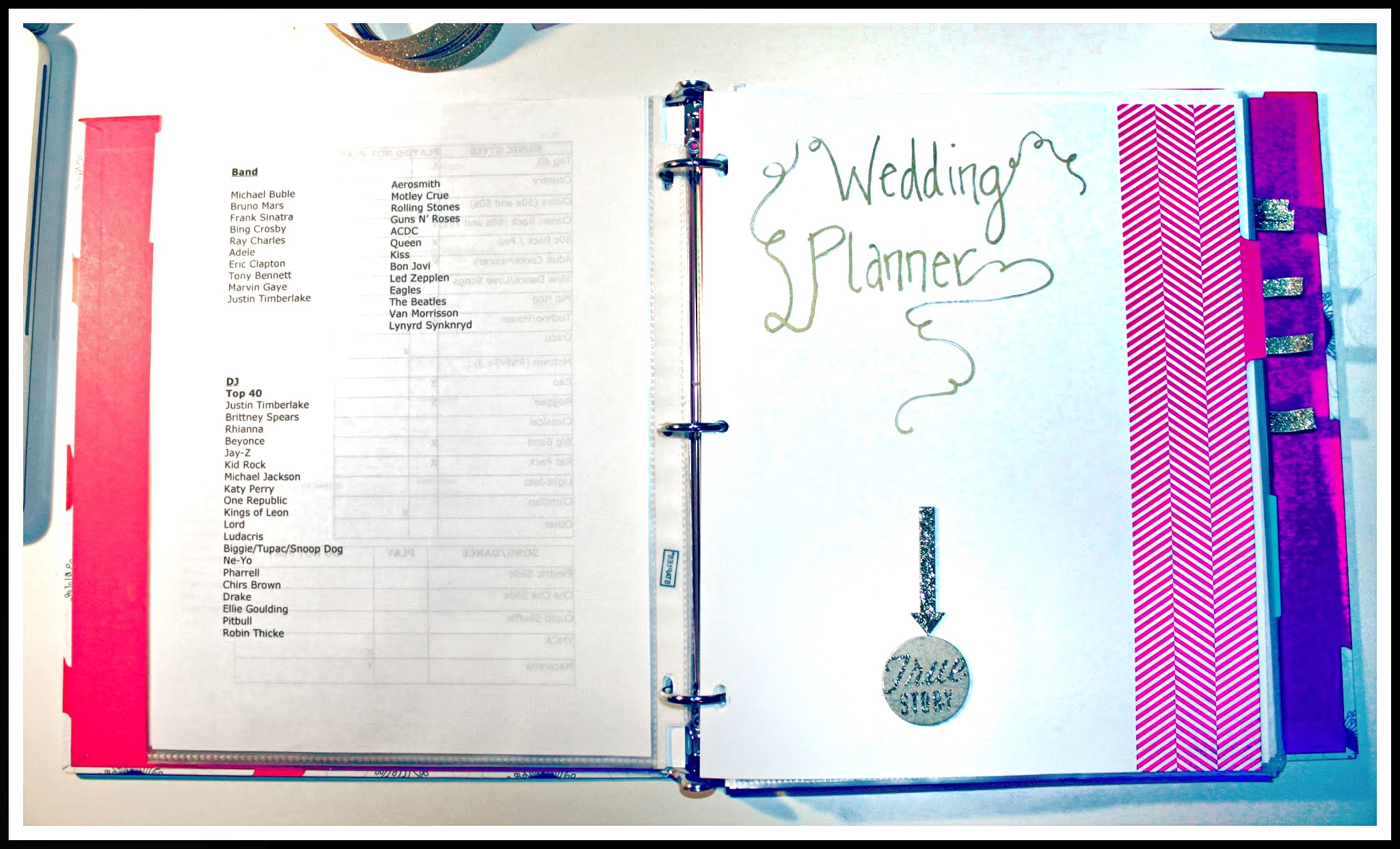 A d i y wedding binder for Diy wedding binder templates
