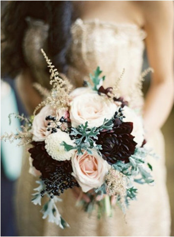 Nude-Maroon-A-Touch-Of-Gold-Wedding-Inspiration-